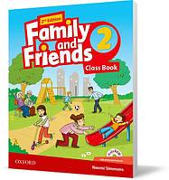 Учебник Family and Friends 2 второе издание, Naomi Simmons | Oxford
