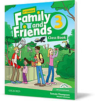 Учебник Family and Friends 3 второе издание, Tamzin Thompson | Oxford