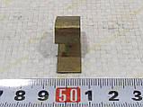 Пластина пружинка задних тормозных колодок демпфер на ЗАЗ 1102 1103 Славута Таврия (1102-3502075) , фото 2