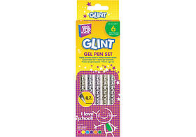 """Набор гелевых ручек Cool For School """"Glint"""", 6 шт"""
