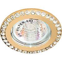 Светильник точечный декоративный FERON DL100 золото