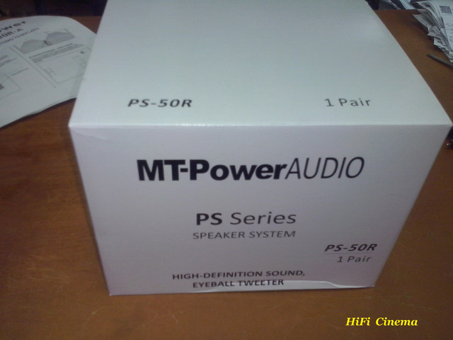 Built-in Speaker MT-Power PS-50R in box HiFi Cinema
