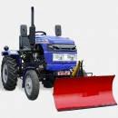 Лопата-отвал (снегоочиститель) 1,4,  ширина 1400 мм, для тракторов мощностью от 25 л.с.