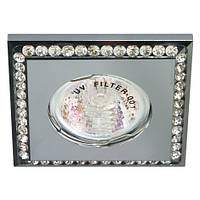 Декоративний світильник точковий FERON DL102 хром, фото 1
