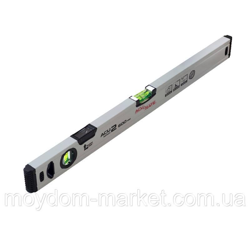 Рівень Acurate ACU2 1000 мм алюмінієвий (ACU2-1000)