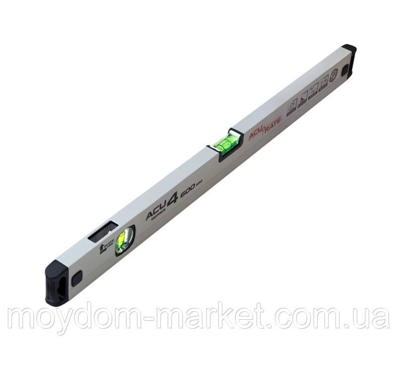 Рівень Acurate ACU4 600 мм алюмінієвий (ACU4-600)