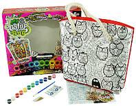 Детское творчество сумка раскраска сделай сам My Color Bag  СОВ-01-01,02,03..05