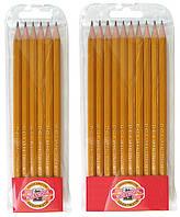 Набор карандашей простых Koh-I-Noor 10шт. 1570.10