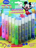 Клей-блеск 10цв/10мл KITE MM11-112WK Mickey