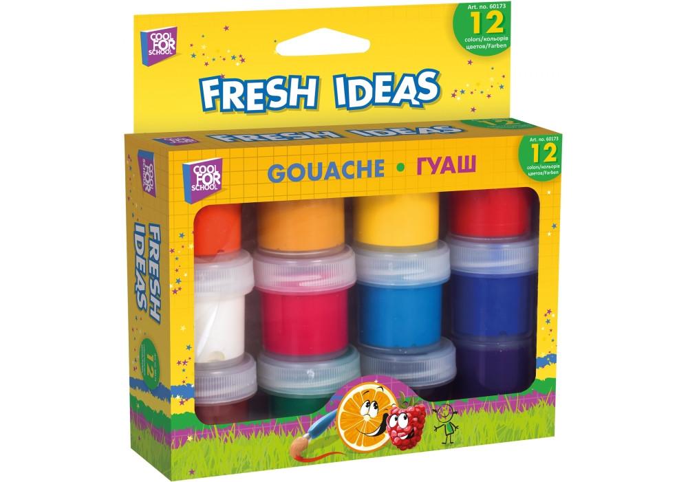 Краски гуашь Cool For School, 12 цветов