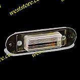 Подсветка заднего номера Заз 1102,1103,1105,Таврия Славута пластиковая, фото 2
