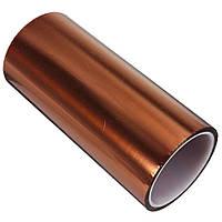 Термоскотч каптон Kapton 60мк. 300мм x 33м каптоновый скотч термостойкий Koptan (Sko-300)