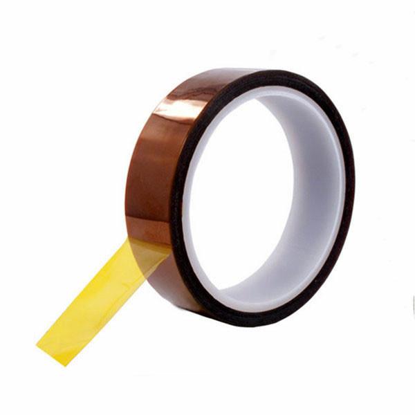 Термоскотч каптон Kapton 60мк 30мм x 33м каптоновый скотч термостойкий Koptan (Sko-030)
