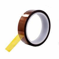 Термоскотч каптон Kapton 60мк 30мм x 33м каптоновый скотч термостойкий Koptan (Sko-030), фото 1