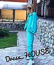 Женский спортивный костюм из неоновой плащевки свободный 5spt687, фото 3