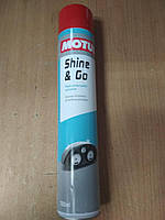 """Полироль для восстановления цвета пластиковых поверхностей МОТО SHINE & GO """"MOTUL"""" (750ml) 100801 - Франция, фото 1"""