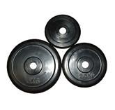 Блины (диск) обрезиненный вес 5 кг, d 30мм
