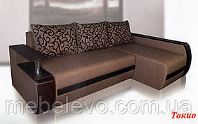 Угловой диван Токио 850х2450х1700мм 160х200 Виркони / Люксор