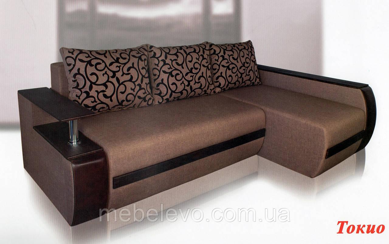 угловой диван токио 850х2450х1700мм 160х200 виркони люксор цена 8