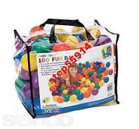 Мячики-шарики для сухого бассейна(100 шт)Intex 8см