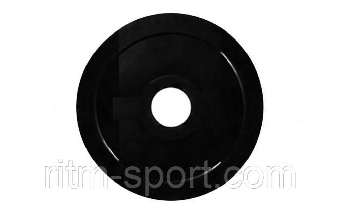 Блины (диск) обрезиненный вес 5 кг, d 52мм, фото 2