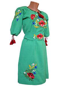 Вишиванка сукня жіноча з поясом р. 48 - 60