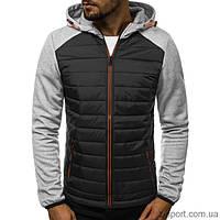 Куртка осенняя мужская J.Style KS1889 серая XXL