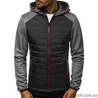 Куртка осенняя мужская J.Style KS1889 темно-серая XXL