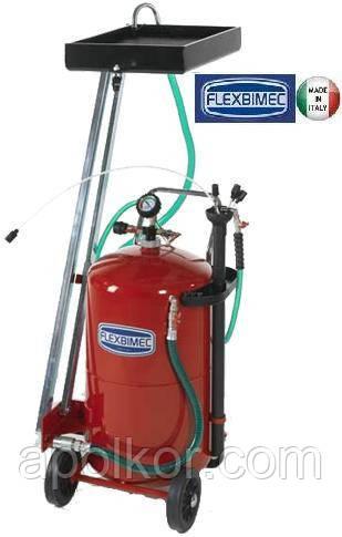 Установка для отсоса и слива отработанного масла объемом 90 л Flexbimec 3182