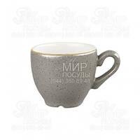 Churchill Кофейная чашка Stonecast Peppercorn Grey 100мл SPGSCEB91