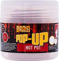 Бойлы Brain Pop-Up F1 Hot Pot (Специи) 10 мм 20 г (18580184)