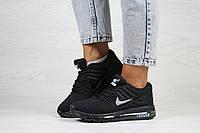 Подростковые кроссовки  Nike 8185 чёрные, фото 1