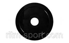 Млинці (диск) прогумований вага 7,5 кг, d 52мм