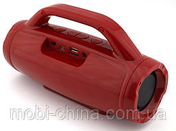 Golon RX-1829BT BoomBox 12W, портативная колонка с Bluetooth FM и MP3, красная, фото 3