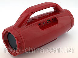 Golon RX-1829BT BoomBox 12W, портативная колонка с Bluetooth FM и MP3, красная, фото 2