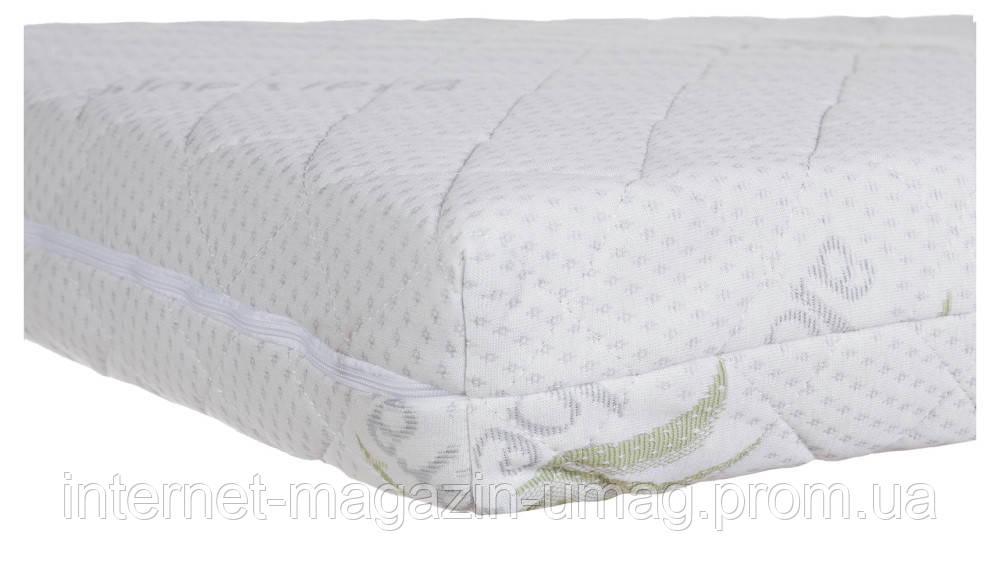 Матрас Сладких снов Aloe Vera Comfort Elite - 10 см. (кокос, полиуретан, кокос)  белый