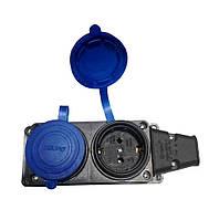 Колодка 2-я TEMPO КАУЧУК з синими заглушками (висока якість) (Турция) R