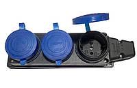 Колодка 3-я TEMPO КАУЧУК з синими заглушками (висока якість) (Турция) R