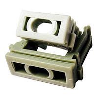 """Кріплення """"скоба"""" для г/т труб D 25 mm сірий(внут. уп.100шт) (50/10ящ) ТМ СПЕКТР LUX"""