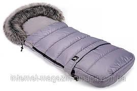 Зимний конверт Cottonmoose Combi  серый