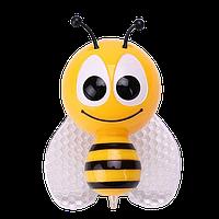 Нічник дитячий LED Бджілка жовтий 0003-9 (100шт/ящ) TM LUMANO
