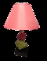 Настольная лампа-торшер дизайнерская MARCO 40W E27 IP20 розовая TM LUMANO
