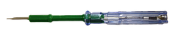Отвертка індикатор-пробник (прозвонка) зелена ДОВГА крест+шлиц (перевертиш) (1200/ящ) (928) R