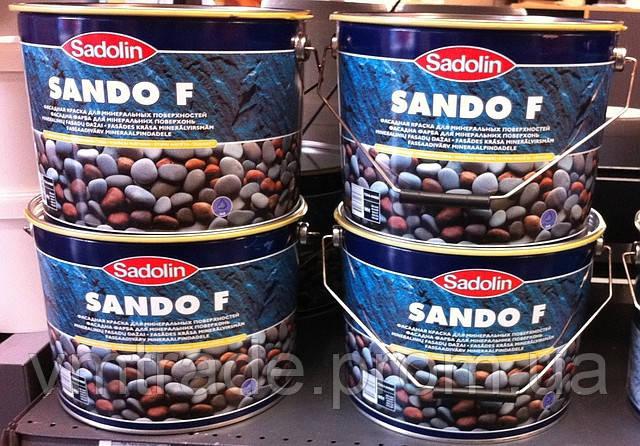 Краска фасадная SADOLIN SANDO F, 5л