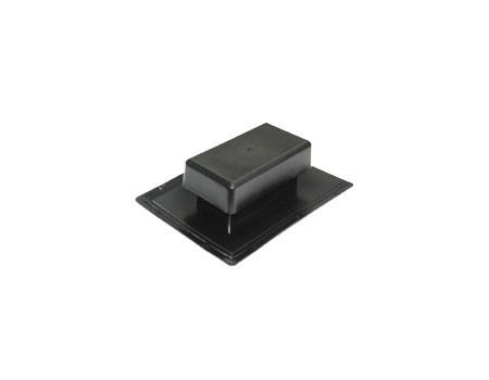 Аэратор скатный плоский Специальный, черный