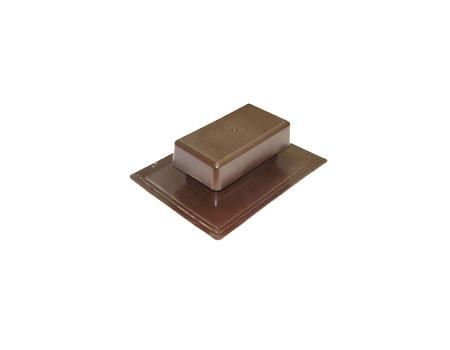 Аэратор скатный плоский Специальный, коричневый