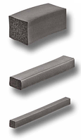 Уплотнитель самоклеющийся DIRAK 273-0802, 2х8 мм, EPDM, для электрических шкафов