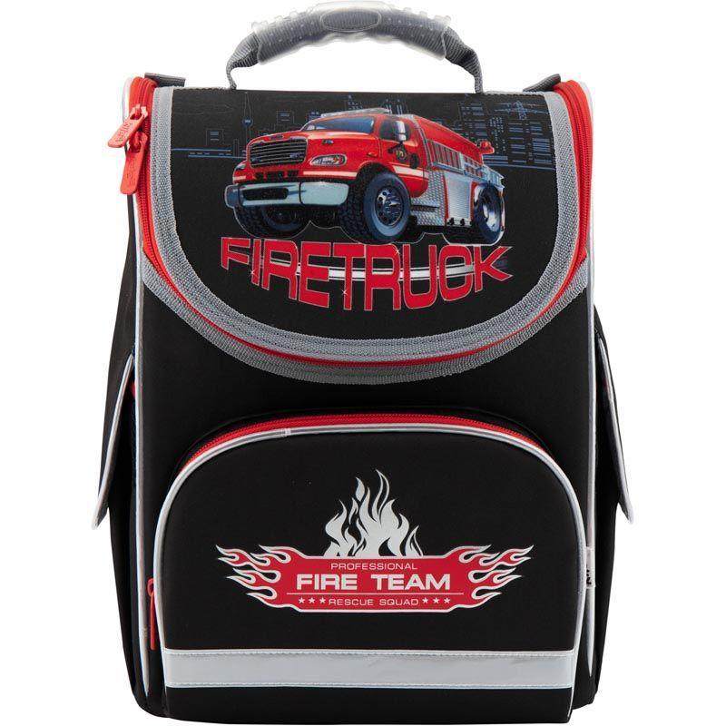 Рюкзак школьный каркасный Firetruck K18-501S-1, S (115-130 см)