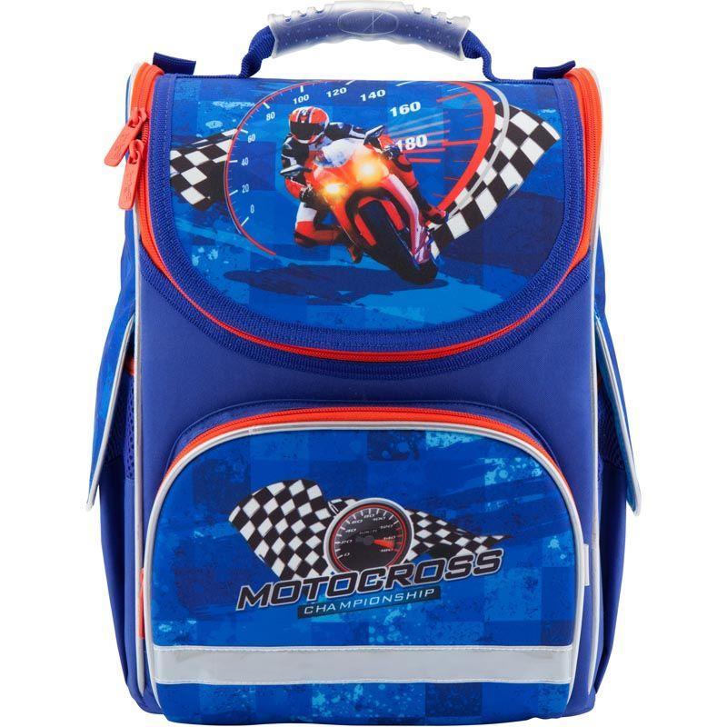 Рюкзак школьный каркасный Motocross K18-501S-4, S (115-130 см)