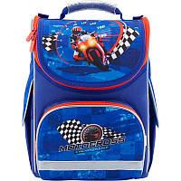Рюкзак школьный каркасный Motocross K18-501S-4, S (115-130 см), фото 1